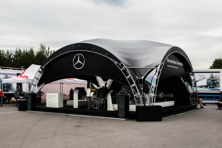 Конcтрукция ArcoTenso Dune Mercedes-Benz