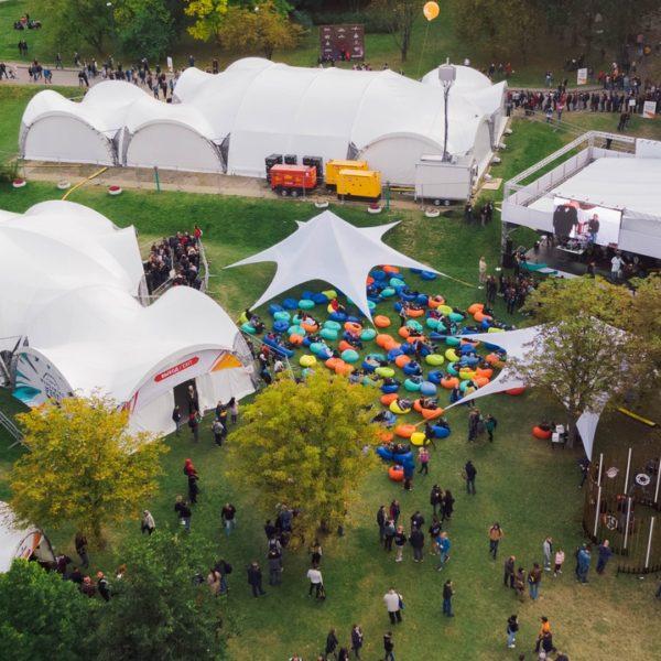 Тентовые конструкции LUXTENT для организации фестивалей