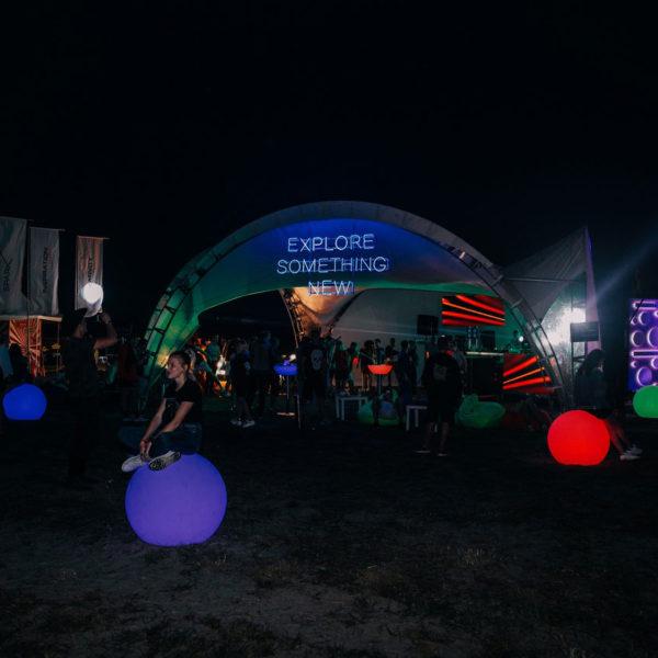 Ночной клуб в шатре