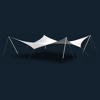 Модель Membrane Sun Sails