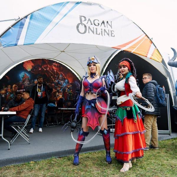 Тематический павильон для Pagan Online
